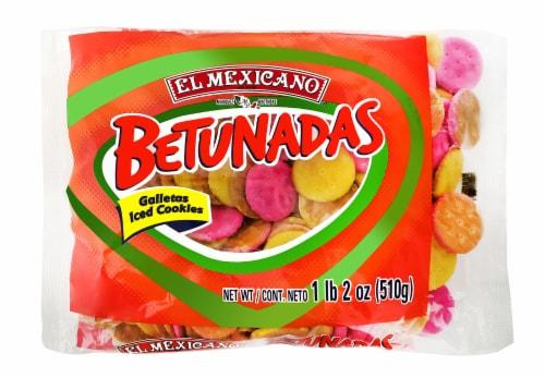 El Mexicano Betunadas Iced Cookies Perspective: front