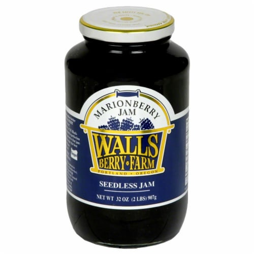 Walls Berry Farm Marionberry Seedless Jam Perspective: front