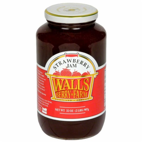 Walls Berry Farm Strawberry Jam Perspective: front