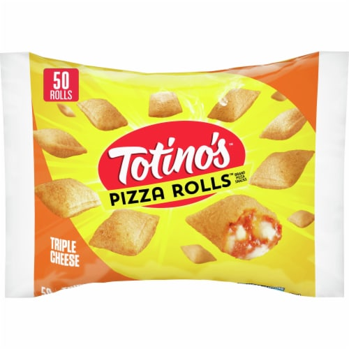 Totino's Triple Cheese Pizza Rolls Perspective: front