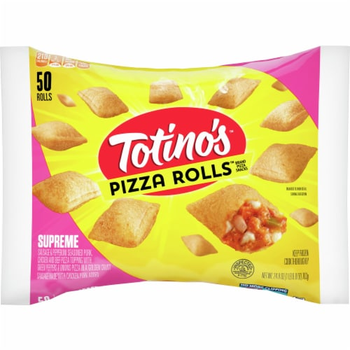 Totino's Supreme Pizza Rolls Perspective: front