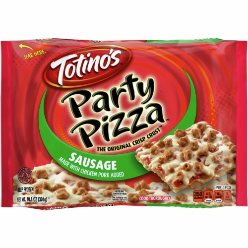 Totino's Sausage Party Pizza Perspective: front