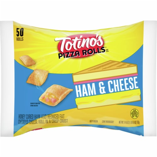 Totino's Ham and Cheese Frozen Pizza Rolls Perspective: front