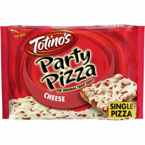 Totino's Cheese Party Pizza Perspective: front