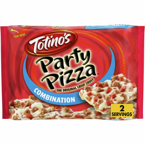 Totino's Combination Party Pizza Perspective: front
