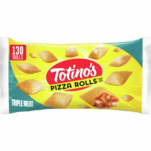 Totino's Triple Meat Pizza Rolls Perspective: front