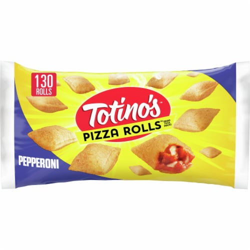 Totino's Pepperoni Frozen Pizza Rolls Perspective: front