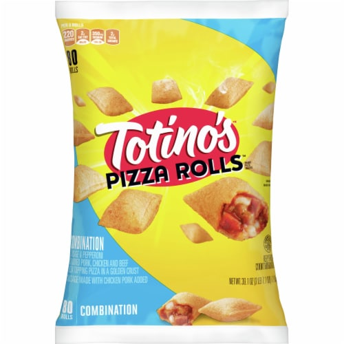 Totino's Combination Pizza Rolls Perspective: front