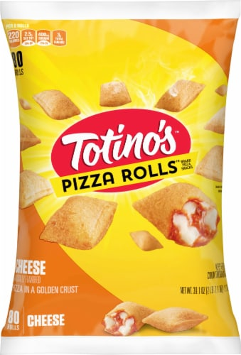 Totino's Cheese Pizza Rolls 80 Count Perspective: front