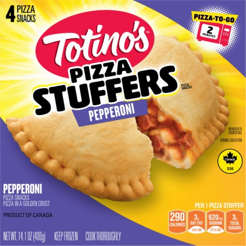 Totino's Pepperoni Pizza Stuffers Perspective: front