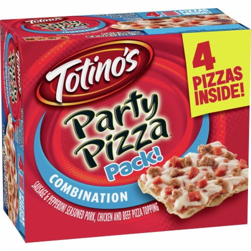 Totino's Combination Party Pizza Pack Perspective: front