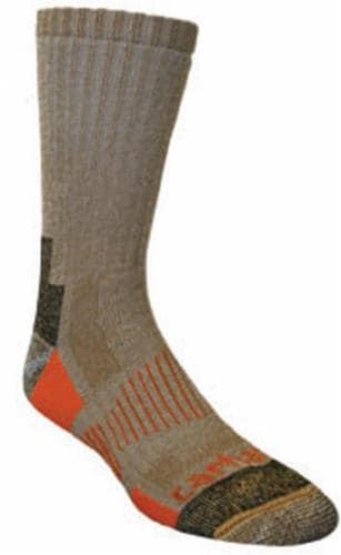 Carhartt® Men's All-Season Boot Socks - 2 Pack - Brown Perspective: front