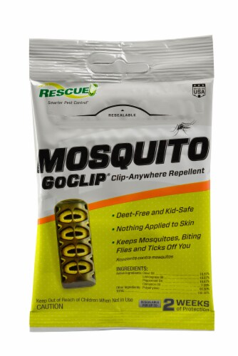 Rescue!® GoClip Mosquito Clip-Anywhere Repellent Perspective: front