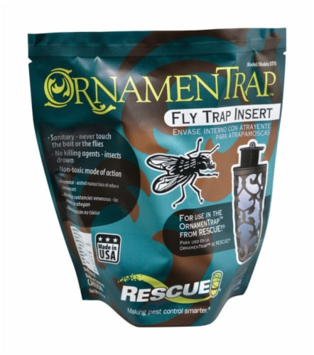Rescue!® Fly Trap Insert Perspective: front
