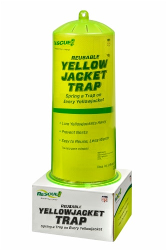 Rescue!® Reusable Yellowjacket Trap Perspective: front