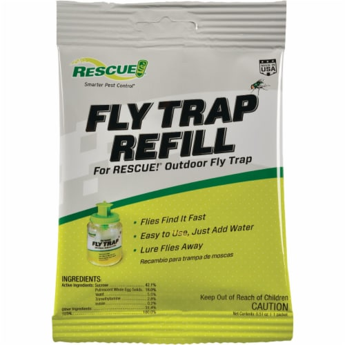 Sterling International FTA-DB12 Fly Trap Attractant Display Box Pack Of 12 Perspective: front