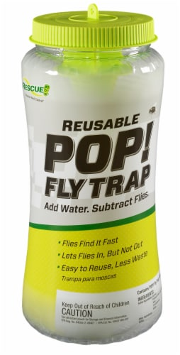 Rescue!® Pop! Fly Trap Perspective: front
