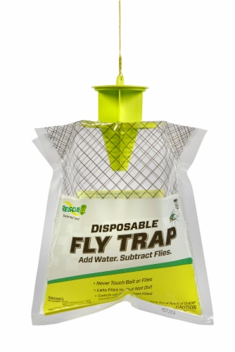 Rescue!® Disposable Fly Trap Perspective: front