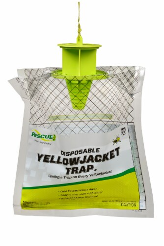 Rescue!® Disposable Yellowjacket Trap Perspective: front