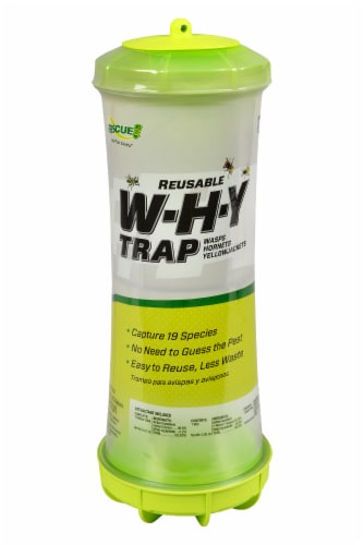 Rescue!® Disposable W.H.Y. Wasps Hornets and Yellowjackets Trap Perspective: front
