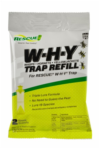 Rescue!® W-H-Y Attractant Insect Trap Kit Perspective: front