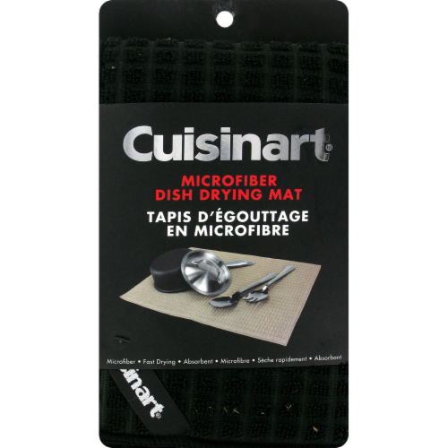 Cuisinart Drying Mat - Black Perspective: front
