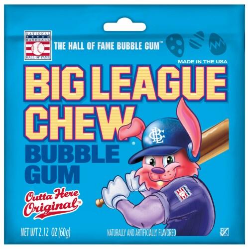 Big League Chew Easter Bubble Gum Perspective: front