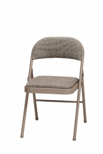 Sudden Comfort Padded Folding Chair - Chicory Lace Perspective: front