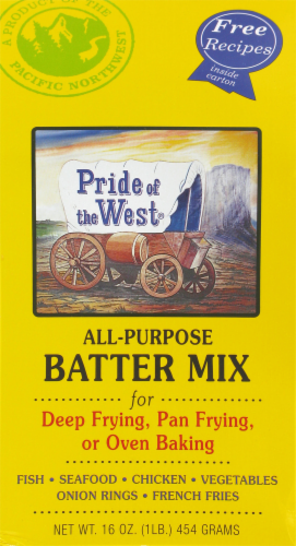Pride of the West All-Purpose Batter Mix Perspective: front