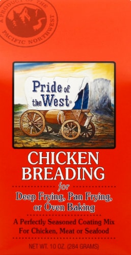 Pride of the West Chicken Breading Perspective: front
