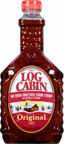 Log Cabin Original Syrup Perspective: front