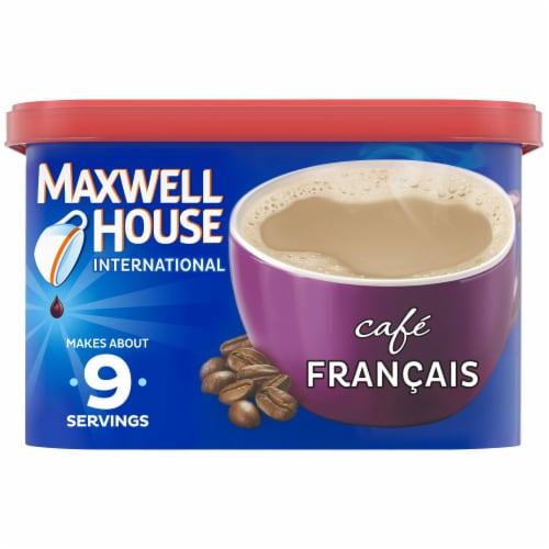Maxwell House International Francais Café-Style Beverage Mix Perspective: front