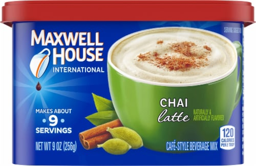 Maxwell House International Chai Latte Mix Perspective: front