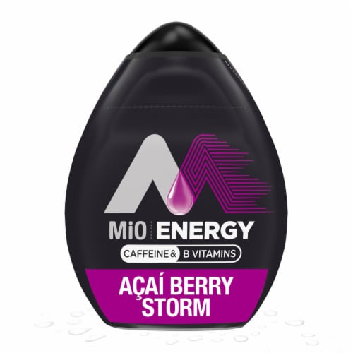 Mio Energy Acai Berry Storm Liquid Water Enhancer Perspective: front