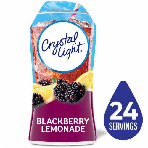 Crystal Light Liquid Blackberry Lemonade Drink Mix Perspective: front