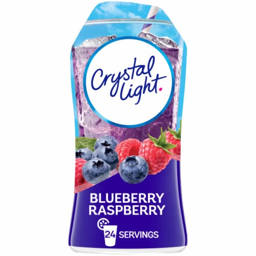 Crystal Light Liquid Blueberry Raspberry Drink Mix Perspective: front