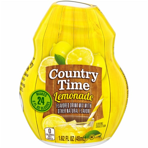Country Time Lemonade Flavored Drink Mix Perspective: front