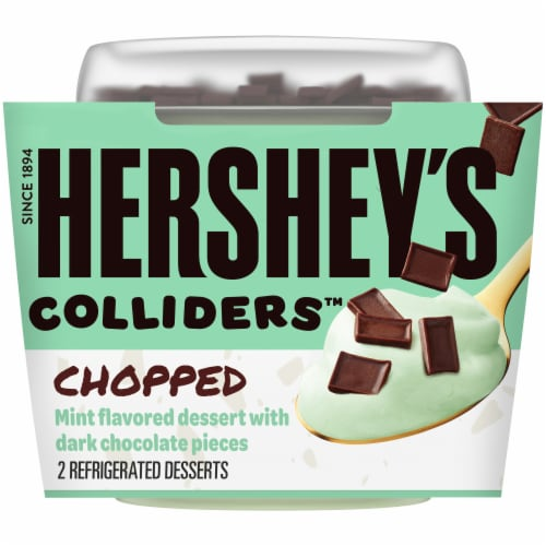 Colliders Hershey's Chopped Mint Dessert Perspective: front