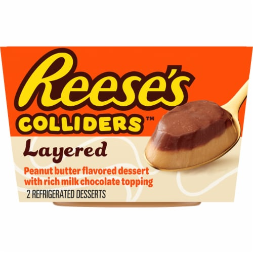 Colliders Reese's Layered Peanut Butter & Chocolate Dessert Perspective: front