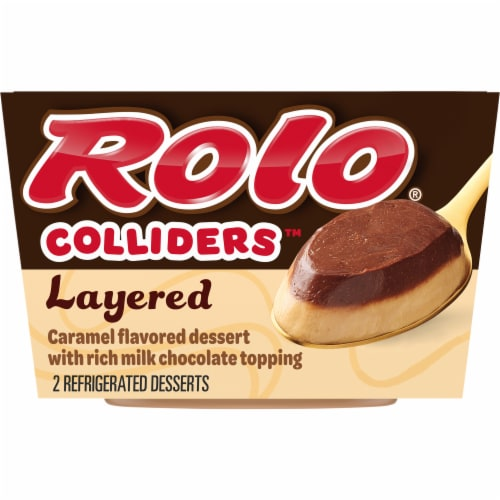 Colliders Rolo Layered Caramel & Chocolate Dessert Perspective: front