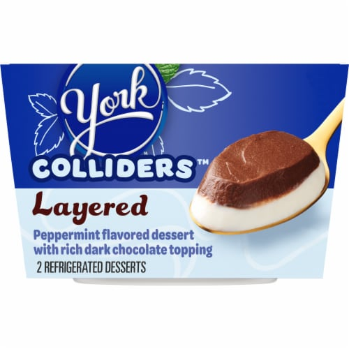 Colliders York Layered Peppermint & Dark Chocolate Refrigerated Dessert Perspective: front
