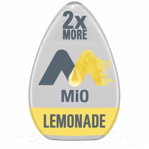 Mio Lemonade Liquid Water Enhancer Perspective: front