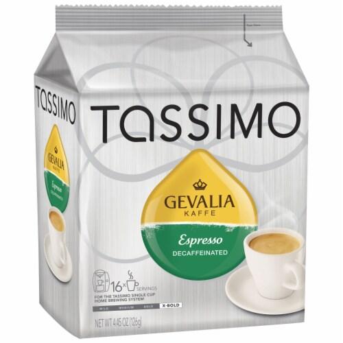 Tassimo Gevalia Decaffeinated Espresso Coffee T Discs Perspective: front