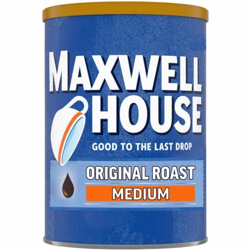 Maxwell House Original Medium Roast Ground Coffee Perspective: front