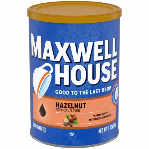 Maxwell House Hazelnut Ground Coffee Perspective: front