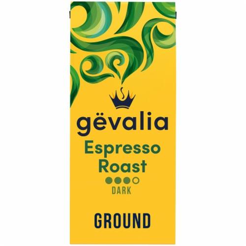 Gevalia Kaffe Espresso Dark Roast Ground Coffee Perspective: front