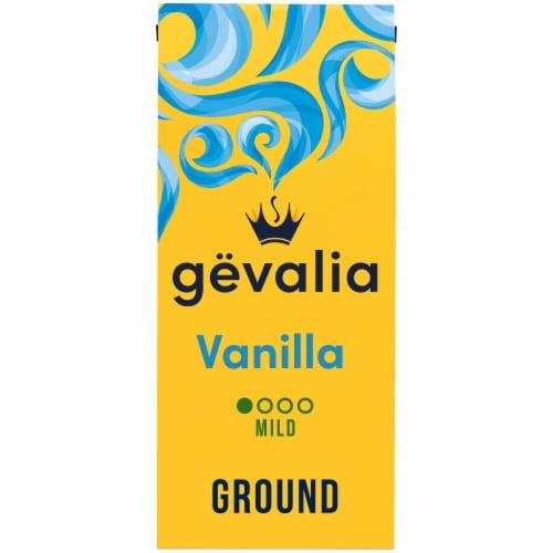Gevalia Vanilla Mild Roast Ground Coffee Perspective: front