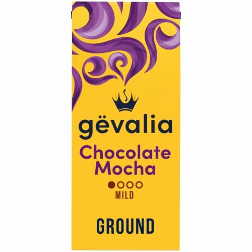Gevalia Chocolate Mocha Mild Roast Ground Coffee Perspective: front