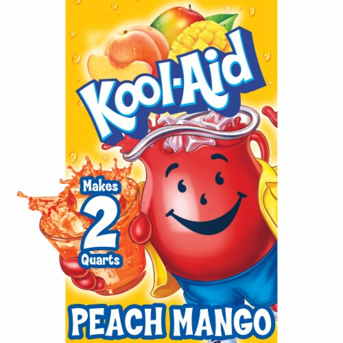 Kool-Aid Peach Mango Drink Mix Perspective: front