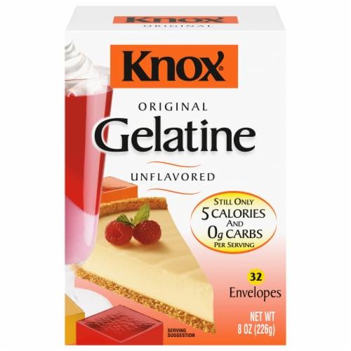 Knox Original Unflavored Gelatin Perspective: front